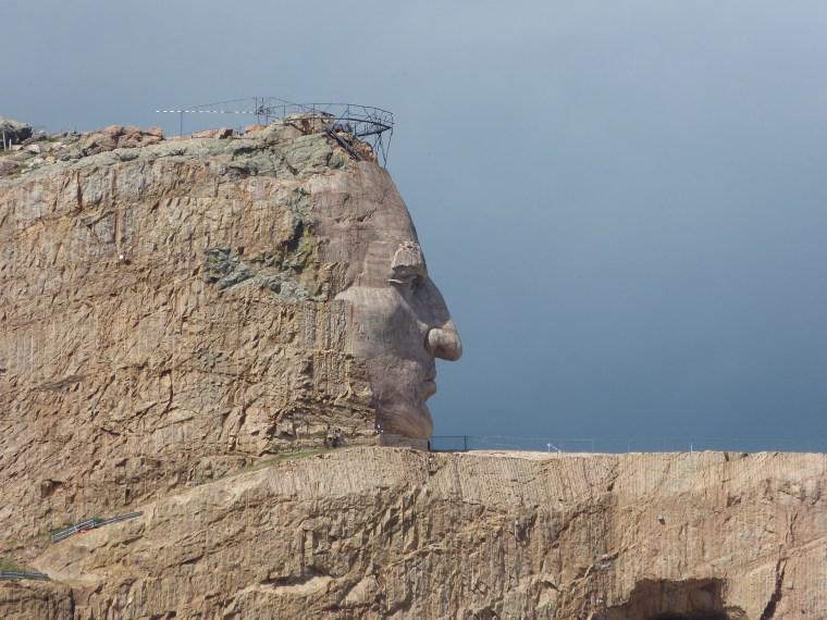 The Crazy Horse Memorial South Dakota