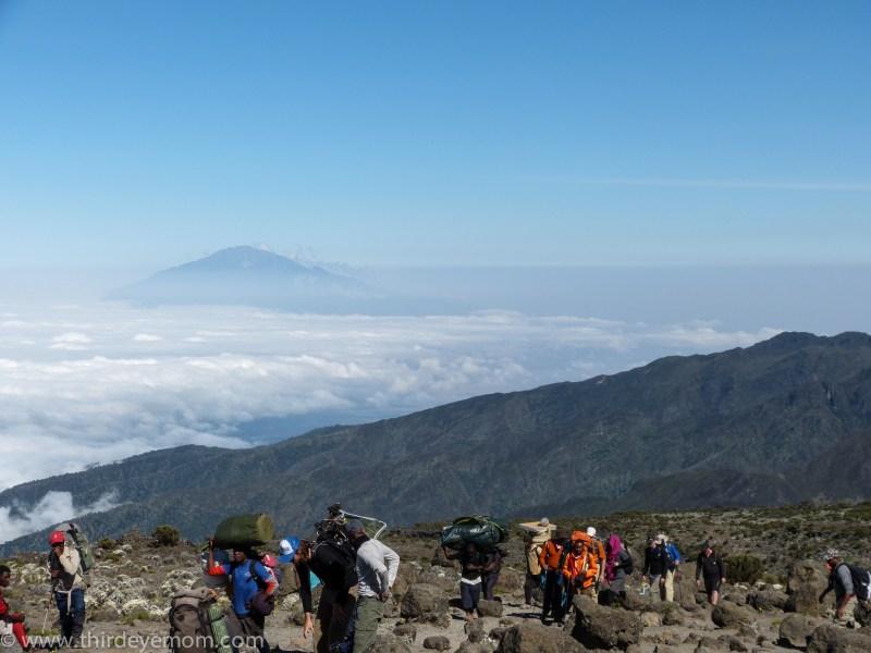 Shira Camp, Machame Route, Kilimanjaro