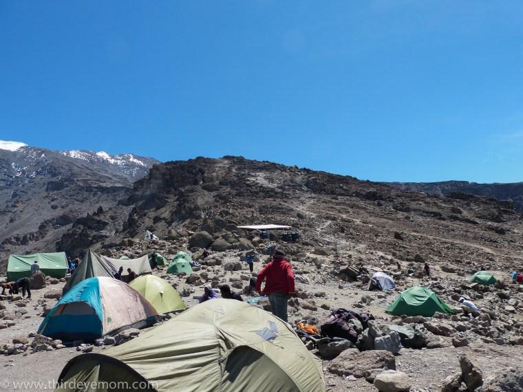 Barafu Camp Machame Route Kilimanjaro
