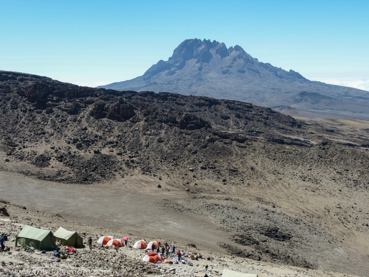 Barafu Camp Machame Route Kilimanjaro