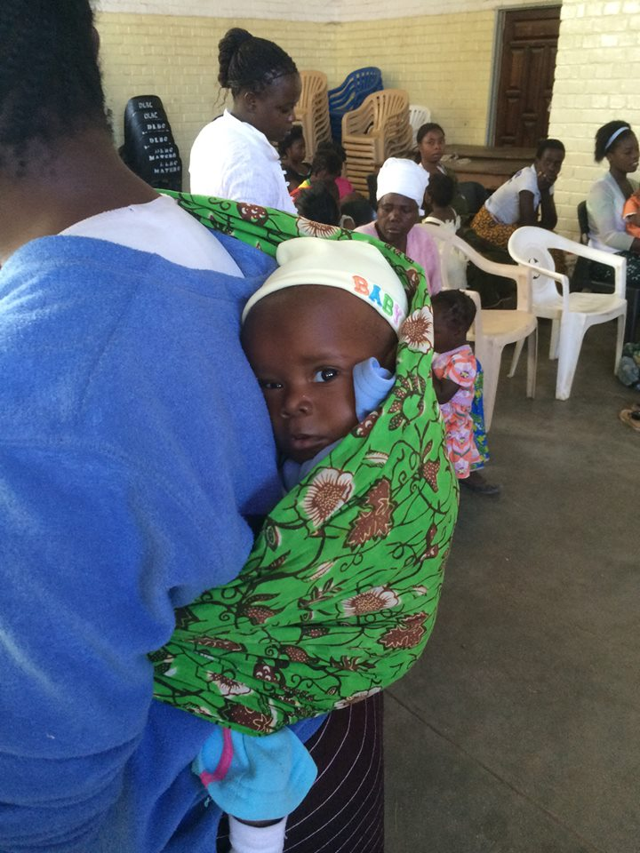 A mother and child in Zambia. Photo credit: Amway