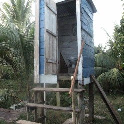 WaterAid has helped build safe and sanitary toilets in the community. Photo Credit: Jennifer Iacovelli