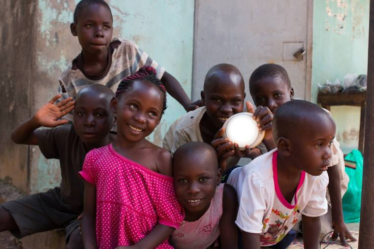 Children who benefit from Solar Sister's lights. Photo credit: Solar Sister