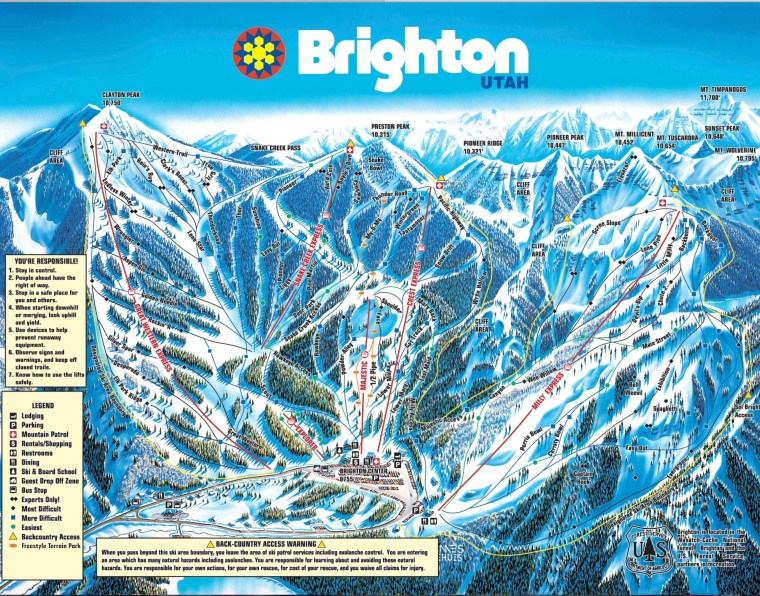 Brighton Ski Resort Utah