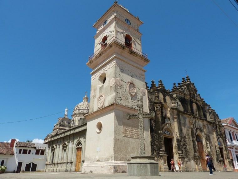 Iglesia la Merced Granada Nicaragua