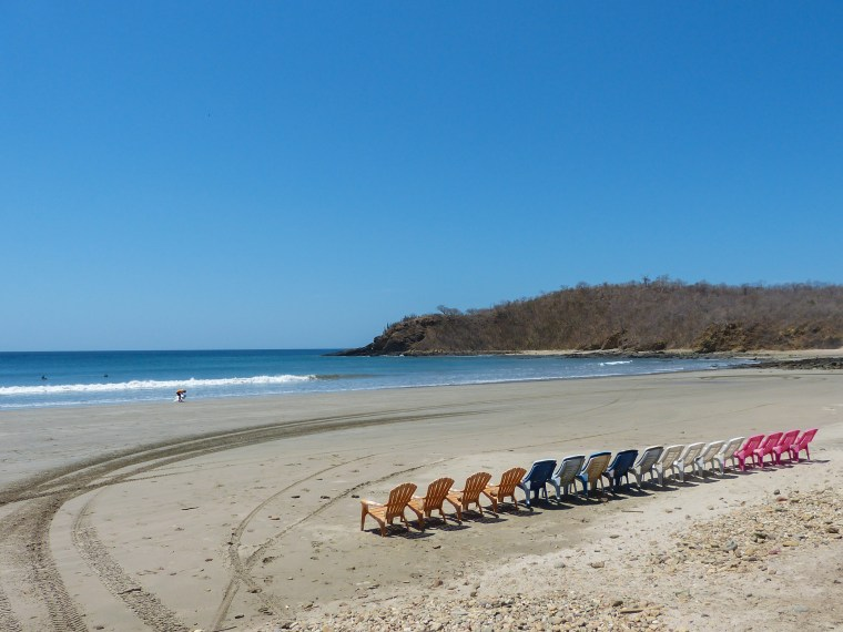 Then the boards are loaded up and we head out to one of several beaches located around San Juan del Sur.