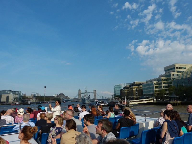 River Thames cruise, London