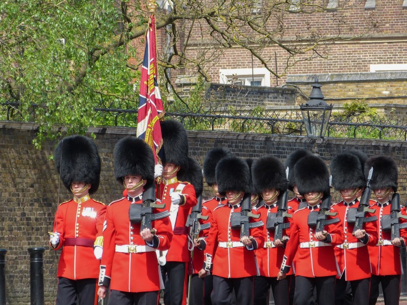Changing of the Guards, London England