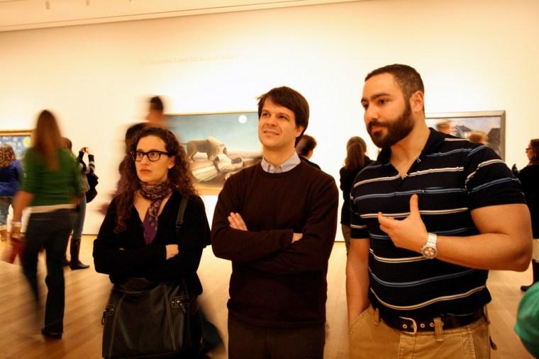 Context New York MOMA Seminar, led by art historian Ara Merjian