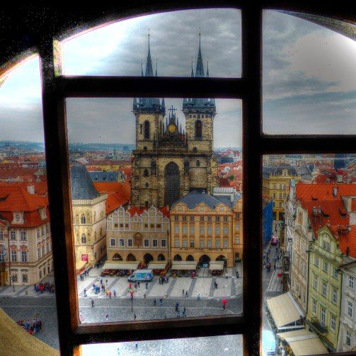 Bell Tower Old Town Prague