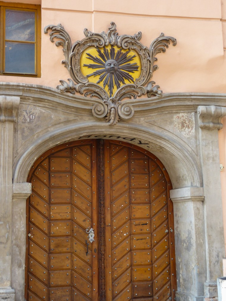 Doors in Prague