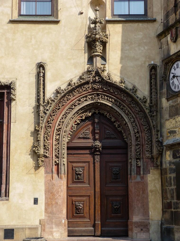 Doors in Prague