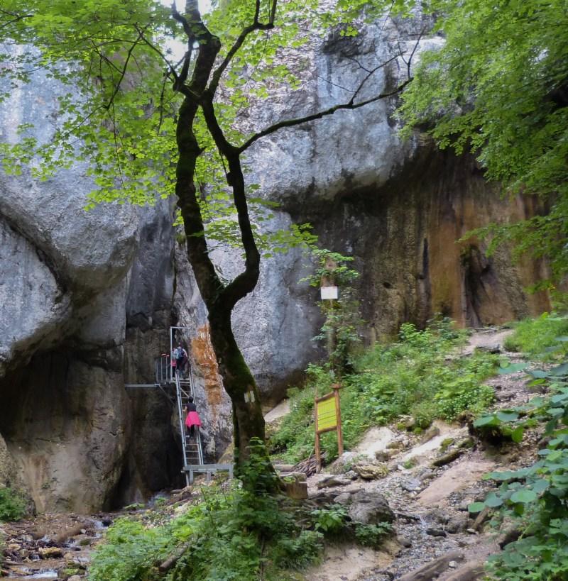 Seven Ladders Canyon Brasov Romania
