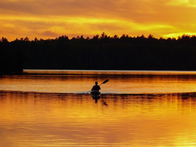 Mitchell Lake, Ely Minnesota