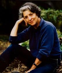 Annette Karnow in her garden, Potomac, Maryland.