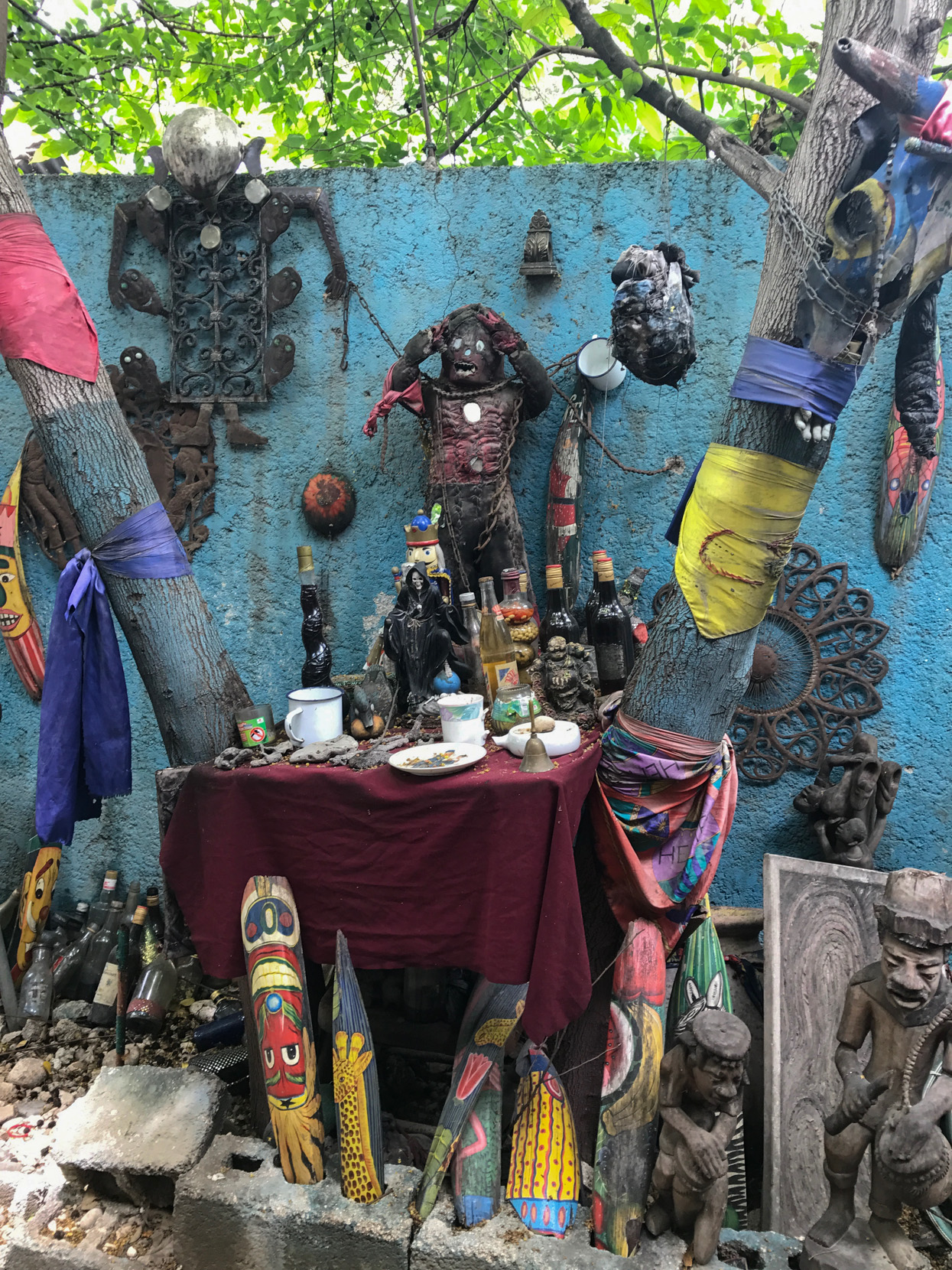 A Step Inside the Studio of Vodou Priest and Artist Jean