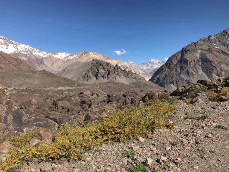 Morado Hanging Glacier, Chile