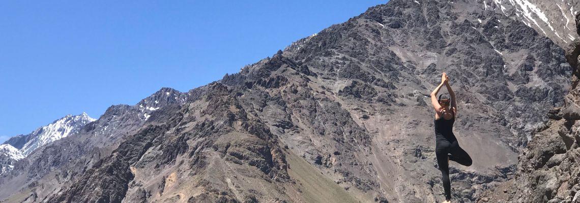 Juncal Glacier, Chilean Andes