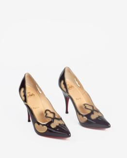 Union & Fifth Christian Louboutin heels in support of the House Rabbit Society