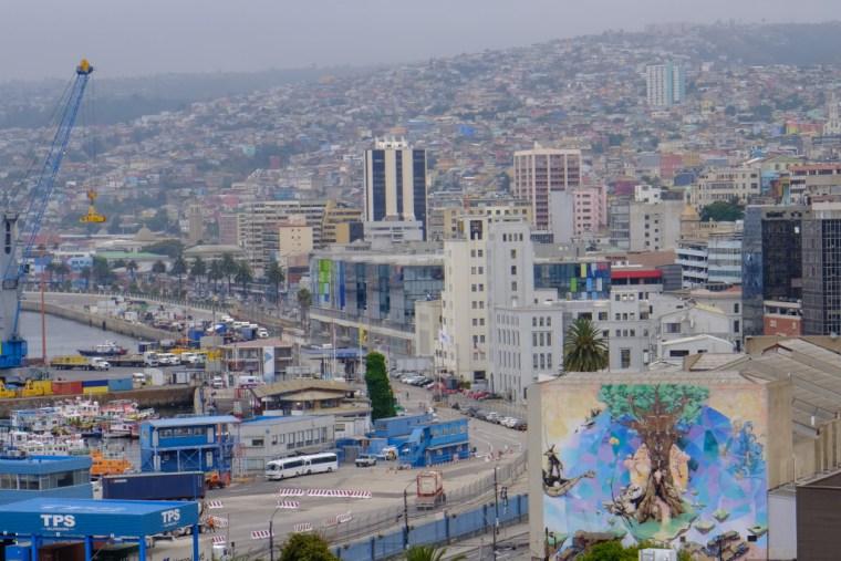 Port of Valparaiso, Chile