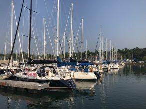 Arrival at the Marina