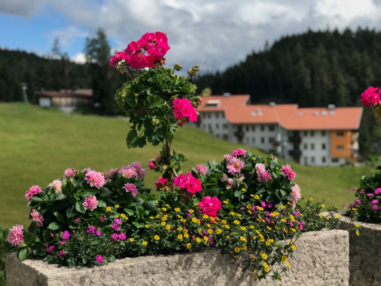 Hiking in Seefeld in Tirol, Austria