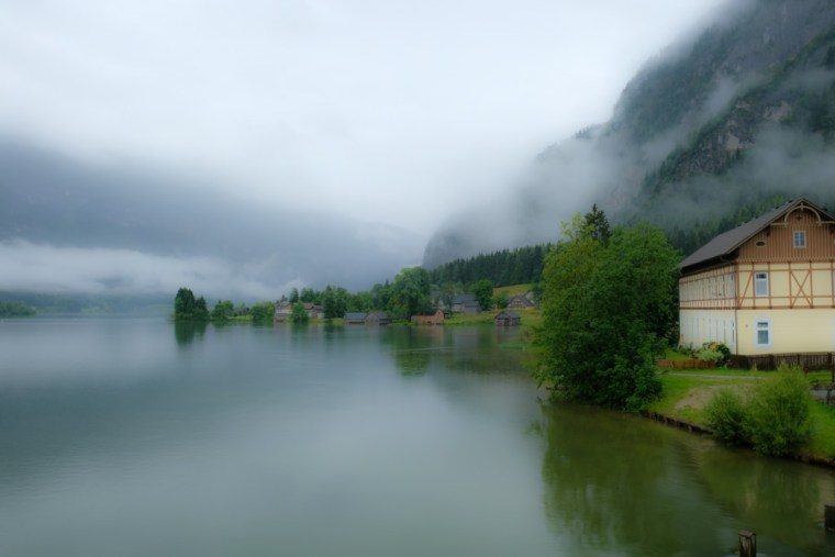 Steeg, Hallstätter See, Austria