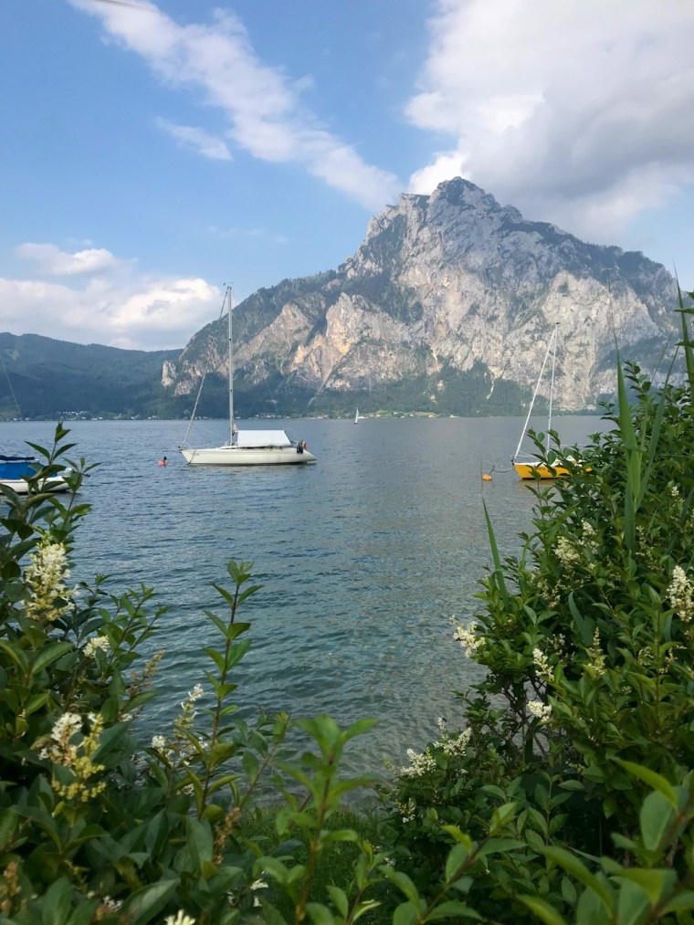 Lake Traunsee, Austria