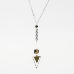 Global Wonders Lead the Way necklace