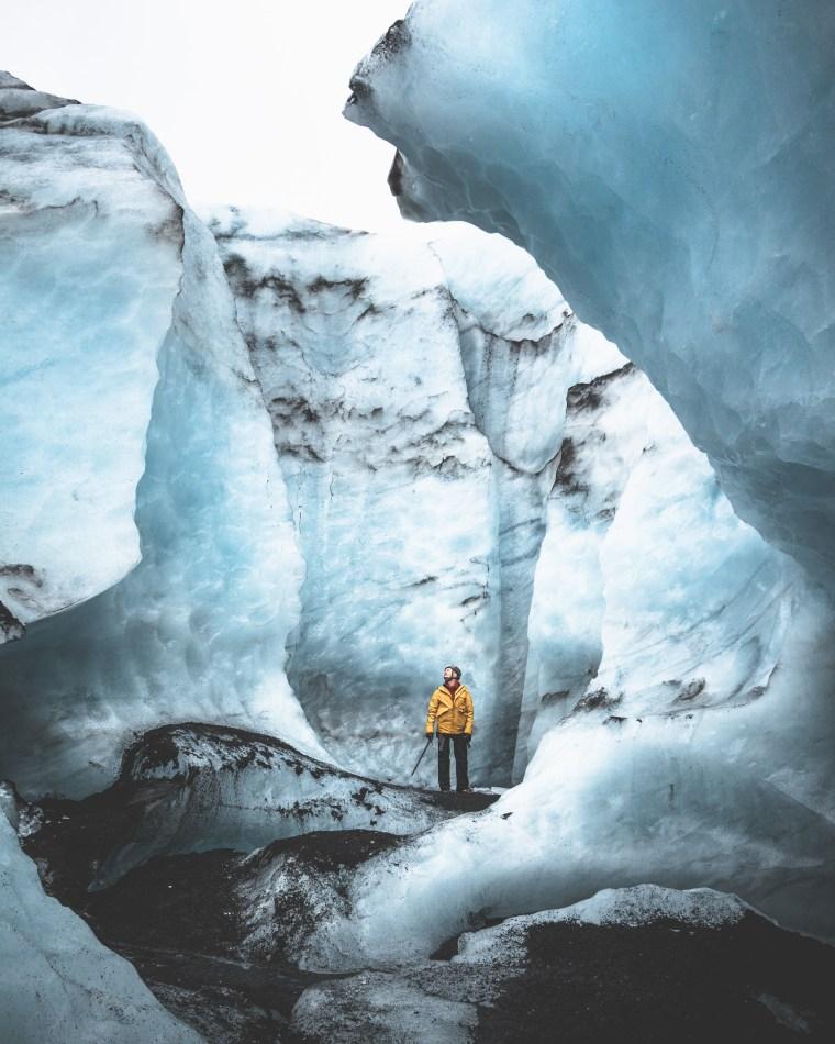 Sólheimajökull Blue Ice.