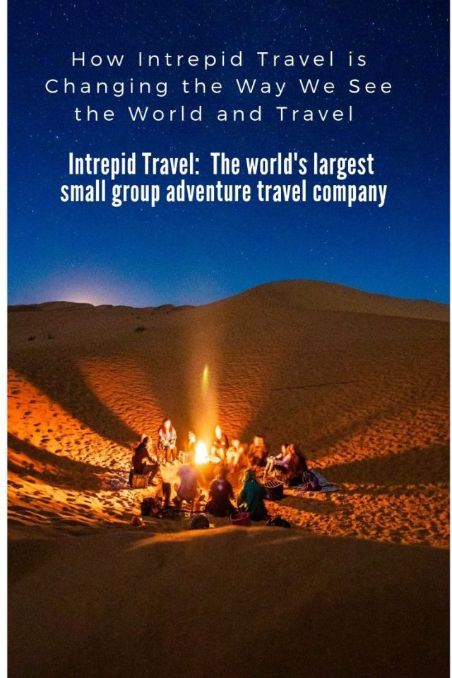 Intrepid Travel -the world's largest adventure travel company - is changing the way we see and impact the world. With over 1,000 tours in 120 countries, Intrepid has done wonders to promote responsible tourism and help make a positive impact on where they travel.