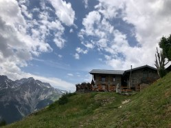 Hiking in Val Ferret Courmayeur Italy
