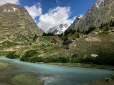 Tour de Mont Blanc Val Veny, Italy