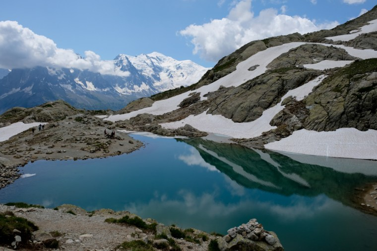 Hike to Lac Blanc, Chamonix, France