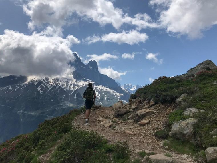Hike to Lac Blanc, Chamonix, France