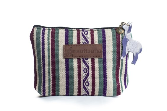 Makeup Pouch in Dahlia $22.00