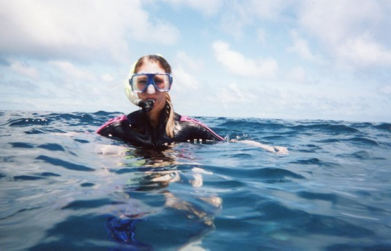 First ever dive in the Great Barrier Reef