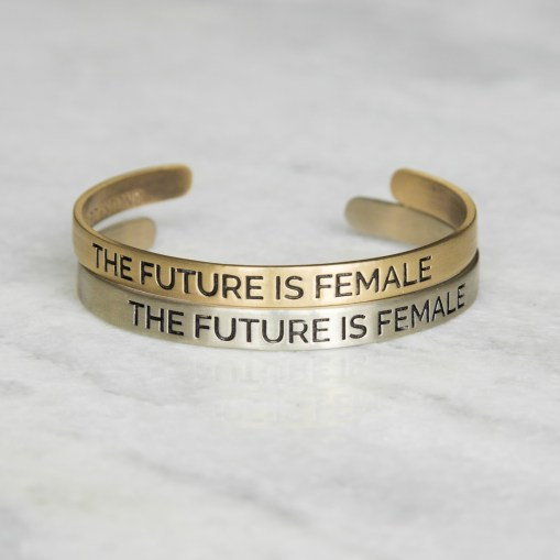The Future is Female Bracelet with proceeds going to Planned Parenthood in NYC
