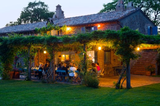 La Locanda della Quercia Calante, where the Umbria Photo Workshop is based