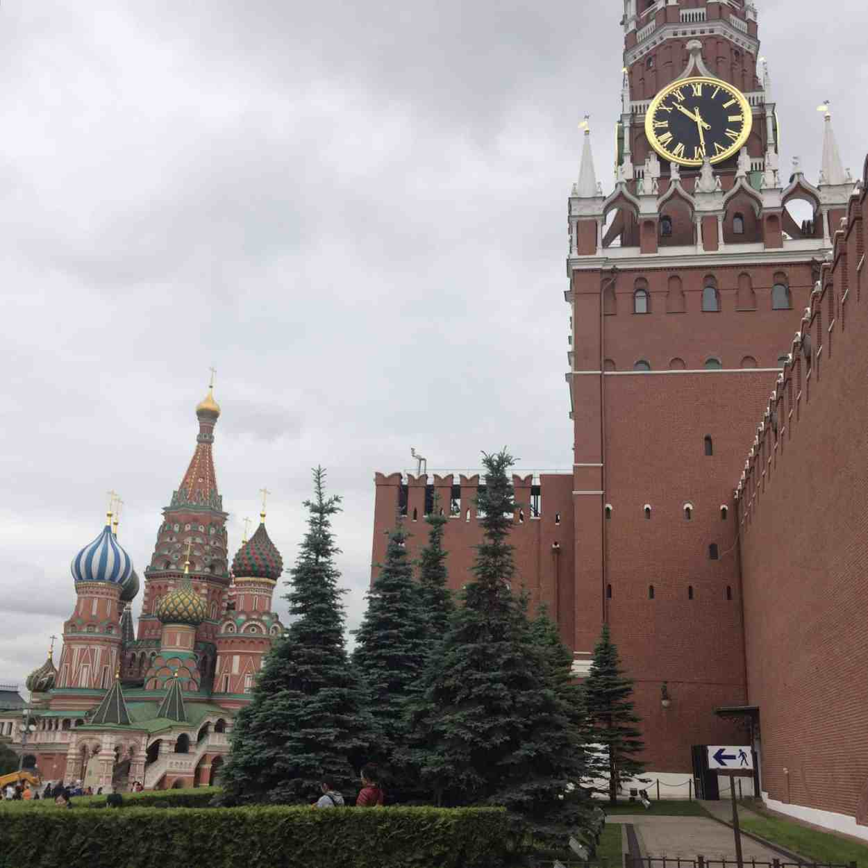 red square buildings