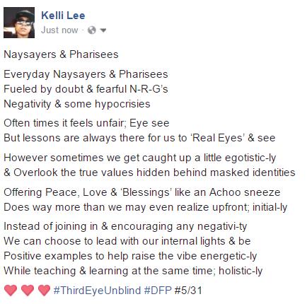 naysayers&pharisees