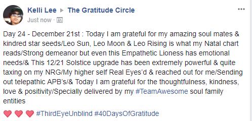 Gratitude 2 Day 24 2017-12-21