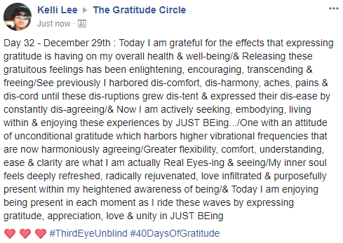 Gratitude 2 Day 32 2017-12-29