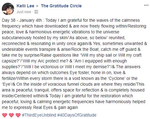 Gratitude 2 Day 38 2018-01-04