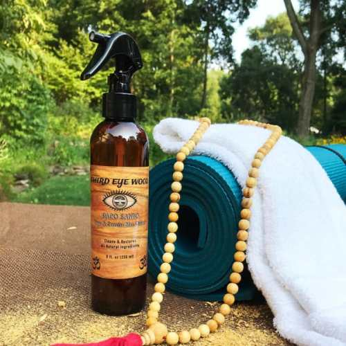 Palo Santo Yoga and Exercise Mat Cleaner