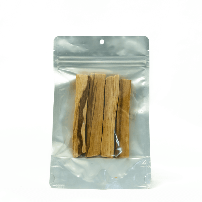 1 oz bag of third eye wood palo santo wood incense sticks