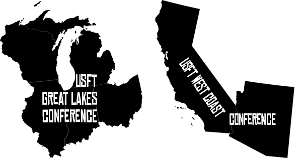 Great Lakes and West Coast Conferences Confirmed!