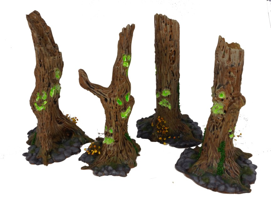 Cursed Forest Terrain Painted!