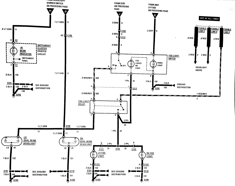 Fog Light Switch Wiring Diagram