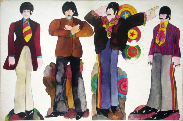 Beatles Yellow Submarine Art